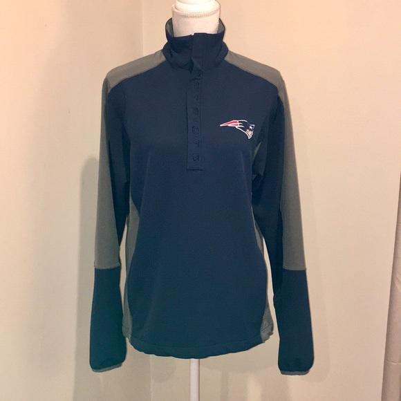 Details about Mens ADIDAS NFL New England Patriots 14 Zip Wind Jacket Dark Blue XL